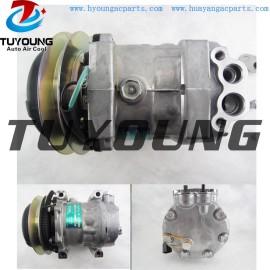 24V SD7H13 Car ac compressor for Kobelco Komatsu Caterpillar SD7360 8952