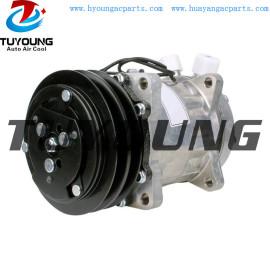 SD7H15 auto ac compressor fit Case 84018087 Deutz-Fahr 16045127 New Holland 82011594 Valmet 32838600