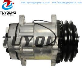 Sanden 7H15 7862 AC Compressor For Case New Holland Agriculture Combine harvester 84018077 84018078