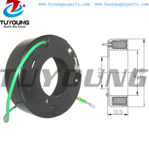 SD7H15 8139 24V Auto ac compressor clutch coil for Volvo Renault size 96 x 64 x 45 x 31.5mm 5010240457