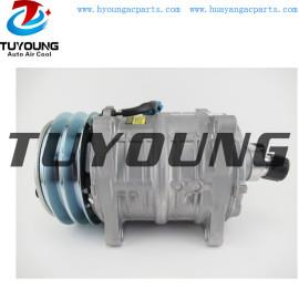 TM13HS auto ac compressor for Bobcat Skid Steer Loader T180 T190 T190G 7136676 7023582