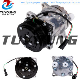 For Bobcat Skid Steer Loader T550 T590 T595 T630 T650 SD5H11 Auto AC Compressor 7023585 7279139