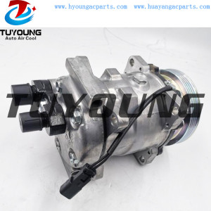 SD5H11 Auto a/c compressor for Bobcat T550 T590 T595 T630 T650 7279139 7023585 7363374