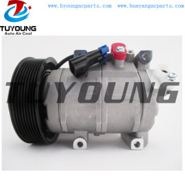 10SRE18C Auto a/c Compressor for JOHN DEERE re326205