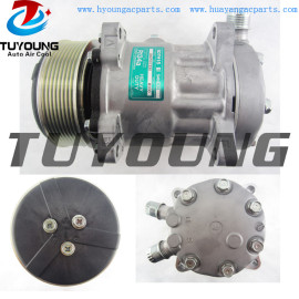 SD7H15 auto ac compressor for ALL New Holland Backhoe Tractor 82008689