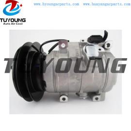 24V 10S15C auto ac compressor for all Agco Case-IH Tractor Komatsu Excavator dcp99822