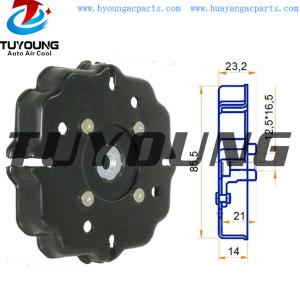 6SEU12C auto ac compressor clutch hub for BENZ A140 A160 A190 447220-8400 417180-5350