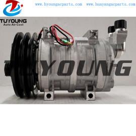 TM21HX auto ac compressor for CATERPILLAR 214-4302 2144302 12V 2PK