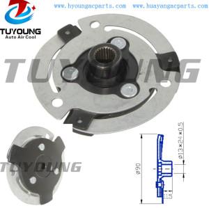 Sanden auto ac compressor clutch hub for size 90*21*11.5 mm