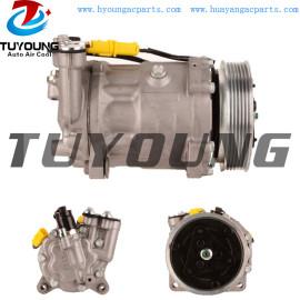 SD7C16 auto ac compressor for CITROËN C5 PEUGEOT 407 9656572380 6453WT 1314F