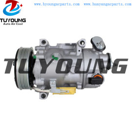 SD6C12 1369F auto ac compressor for Citroen C5 PEUGEOT 508 2.0 1618094580 9677824580 9819714780