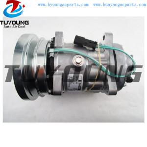 SD7H15 auto ac compressor for Caterpillar Challenger Sennebogen 3E1906 1011759