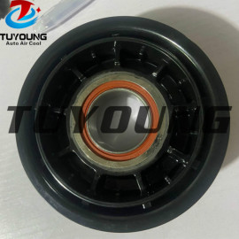 auto ac compressor clutch Pulley for 8t0260805e 8t0260805t 6pk 110mm 12v