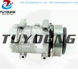 SD7H15 Sanden 7H15 6096 6450 a/c compressor for Caterpillar 313D 316E 316EL 318EL 3729493 372-9493