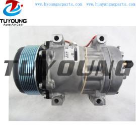SD7H15 auto ac compressor for Case-IH Caterpillar Tractor 4021 2992212 3004277 3952123
