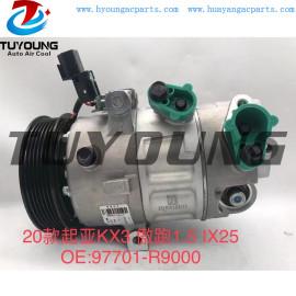 Auto AC compressor for 2020 Kia KX3 1.5 IX25 97701-R9000 97701R9000