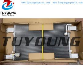 FV515 Auto AC Condenser for Mitsubishi Heavy Truck 515 Size 579*361*16 mm