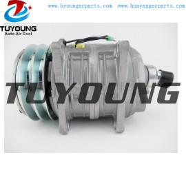 Auto a/c compressor for TM08 12V 2PV 125MM R404a