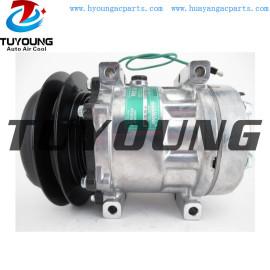 SD7H13 auto a/c compressor for NEW HOLLAND KOMATSU LINK-BELT KOBELCO CATERPILLAR 2597245 189-2746