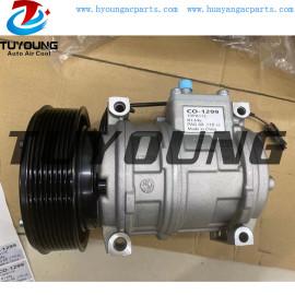 10PA17C auto ac compressor for John Deere CO-1299 8PK 12V 145mm