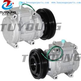 10PA15C Auto AC Compressor fit Daewoo Excavator 130 LC-V 1999- 2208-6013B 22086013B 2208-60-13B 24V