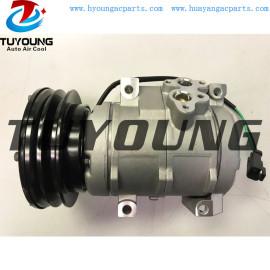 10S17C auto ac compressor for Caterpillar 2597244 DCP99809 25972-44 247300-4610 437100-5040 24V