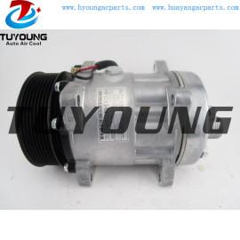 Sanden SD7H15 8022 auto a/c compressor for Peterbilt Kenworth