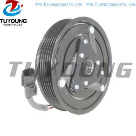 For Renault Laguna Latitude Auto ac compressor clutch 6PK 123MM 7711497037 8200720417 Z0003234