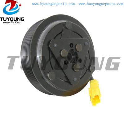 SD6C12 SD6V12 SD7C12 1364F Auto ac compressor clutch for Peugoet 307 508 Citroen C4 6PK 118mm 12V