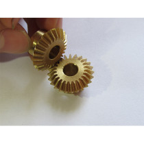 Customized small bevel gears for electronic products