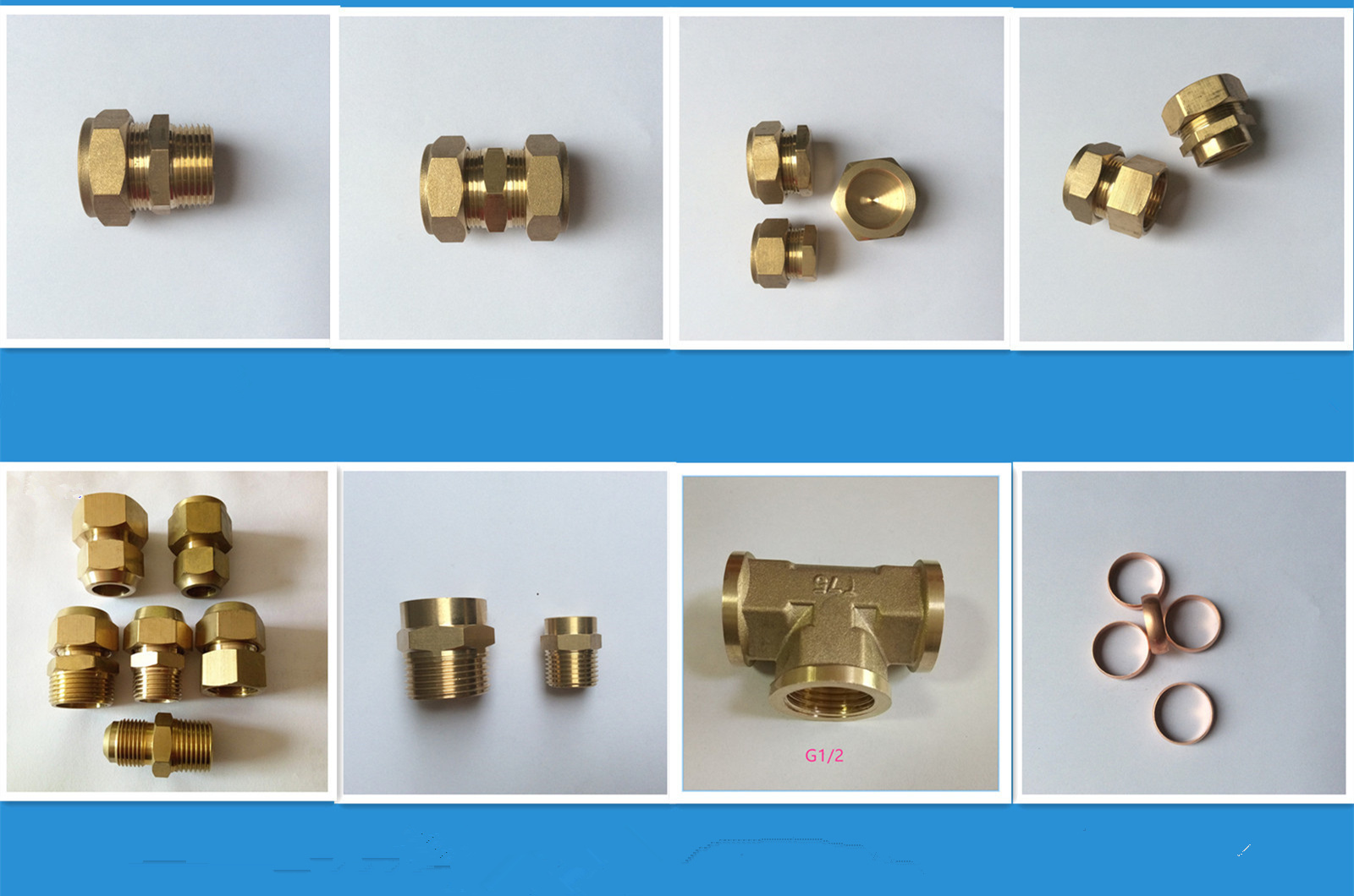 Customizable high strength water heating copper joint