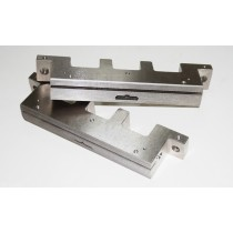 Customizable pillow packer cutter seat and blade for various specifications