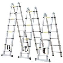 Customizable high strength aluminum alloy expansion ladder