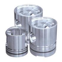 Customizable high strength engine pistons