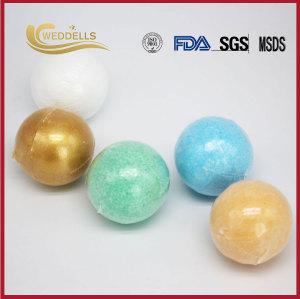 Balles de bain d'emballage de Noël sur mesure en gros bombes de bain moussant huiles essentielles bombes de bain japonais