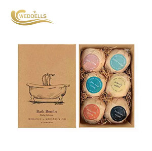 Weddells  private label organic bath bombs gift set