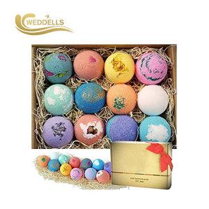 Weddells Macarons bombes de bain avec différentes couleurs
