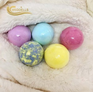 Wholesale personnalisé bombe de bain à bulles organiques naturels