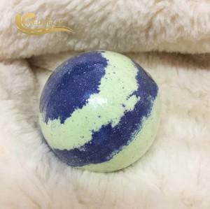 Wholesale custom Natural Organic bubble bath bomb