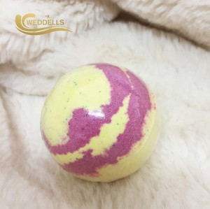 Wholesale custom Natural Organic bubble bath bomb