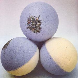 Set di bombe da bagno a bolle organiche naturali personalizzate