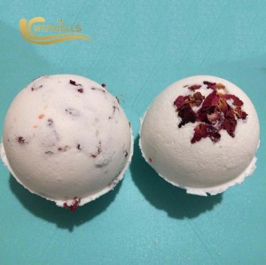 SPA bath fizzy whitening moisturizing romantic bath salt