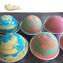 Private Label Hot Sale Gift Set Organic Moisturizing Spa Fizzy Bath Bombs