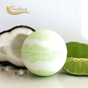 Private Label Hot Sale Gift Set Organic  Spa Fizzy Bath Bombs