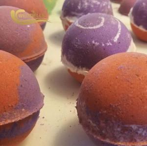 Organic bath bombs kit set vegan  bath bombs gift set