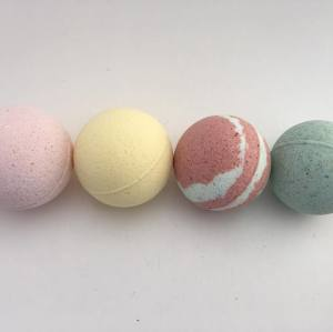 Handmade natural ingredients bath bomb