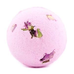 Handmade  Moisturizing  With Dried Petals Flowers Bath bombs set