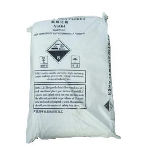 TNN hot pearl caustic soda 99%. in 25kg bag
