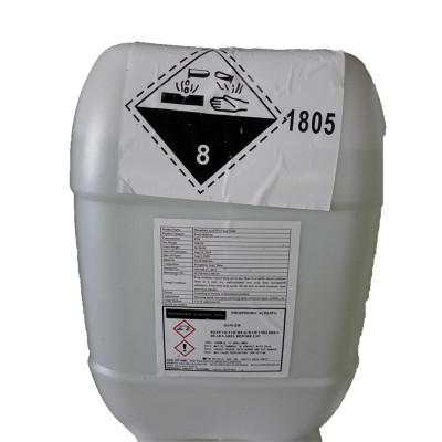 85% Low Fe phosphoric acid food grade