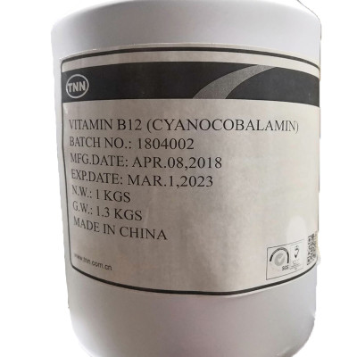 TNN food grade Cyanocobalamin 1% with mannito dcp Vitamin b12